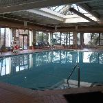 Large Indoor pool, spa, sauna & playground