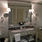 our bathroom - so pretty!!!!