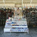 Souvenir shop outside