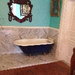 Old fashion tub in our room
