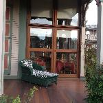Porch of the B&B