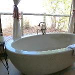 Stone bath at Elephant Camp