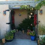 A Hacienda entryway
