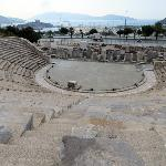View from the top of the Bodrum Amphitheatre