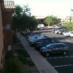 Parking area at the Embassy Suites Tucson Paloma Village