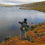 Fishing in Ausuvatn