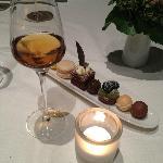L'arrivederci dello chef, assortimento di dolci e vino marsala