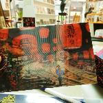 Pingxi, writing my own postcard