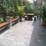 Nice outdoor area