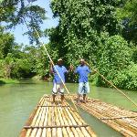 Raft Captains on the Martha Brae River