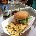 One Terrific Magnolia Burger and an Organic Beer