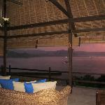 Surise view from Villa 13 at Bloo Lagoon