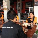 very nice Staff enjoy Lunch