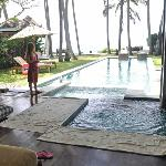 Pool at villa Samudra