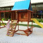 Playground outside of kids club