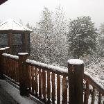Woke up to snow Oct 30, 2012