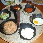 Nasi goreng Indonesia or indonesian fried rice
