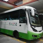 KLIA shuttle bus.