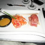 Sashimi entree one night