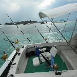 The game fishing boat