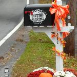 The Candleberry Inn mailbox for the many thank you notes they receive!