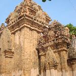 Cham towers in Nha Trang