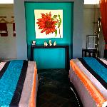 Spa area for couples massage