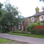 Approach to Martin Lane Farm