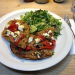 roasted vegetable tartin