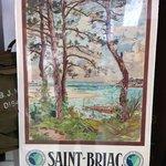 Affiche originale Alexandre Nozal Saint Briac