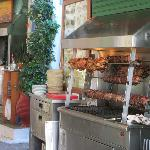 "The ""Grill"" - a selection of meats to choose from"