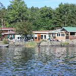 View of the Lodge from the lake