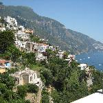 Positano view from VENUS Inn