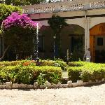 Hacienda Pinsaqui, Otavalo: Main Entrance