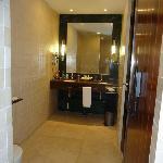 Bathroom double sink Junior Suite with Jacuzzi room 403