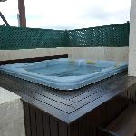 Jacuzzi on Roof Terrace Junior Suite with Jacuzzi room 403