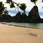 Far end of Railay Beach