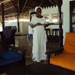 Katie, a wonderful member of Chapwani staff