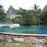 View from the pool area of Railay  Beach
