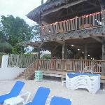 Bar/Beach area