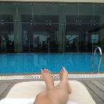 Pool/ Gym view