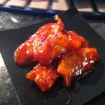 sticky sweet and sour Chicken