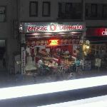 Opposite our hotel room, would also recommend pizza tomato.