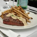 Photo of steak frites