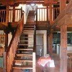 Escalera del salón