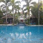 Pool right outside our Suite Karna