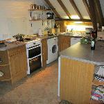 Kitchen in granary