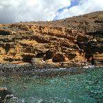 Costa del Silencio natural bay and rockformation, just 200 meters south of the hotel, gorgeous