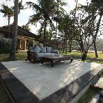 Rama Candidasa outdoor living room