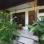 Rama Candidasa room porch